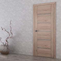 Interior and exterior doors by MilanoDoors, contemporary italian doors, modern wood doors. Modern Wood Doors, Modern Front Door, Contemporary Doors, Exterior Doors, Interior And Exterior, Italian Doors, Doors Online, Pooja Rooms, Modern Interior
