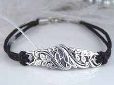 Spoon Jewelry Bracelet ,Spoon Bracelet, HAND SCULPTED Silver Bracelet, Silver Spoon Bracelet, Silverware Bracelet, Vintage Wedding - by jasmine