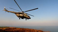 Russian chopper carrying aid comes under ISIS fire over Hama, Syria – military http://pronewsonline.com FILE PHOTO: Mi-8 © Vitaliy Ankov