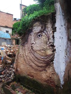 Street Art Faces by Andre Muniz Gonzaga