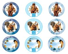 http://www.creativeprintables.org/free-ice-age-party-ideas.html