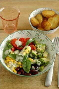 Salade composée pour pommes de terre sautées ou vice versa_2