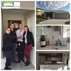 Congratulations to Stroud Homes Brisbane East who handed their very first home over recently to Tom and Kimi. We hope you enjoy your new home and create happy memories for many years to come! #stroudhomes #feelslikehome #newhome #blackandwhitequotes #happy #exciting #handover