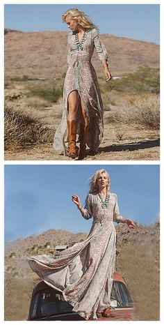 Boho style long dress. Get it in our Christmas sales deal right now! Lightning Deals will got your amazed! Exciting Deals of the Day, and savings on your wallet.