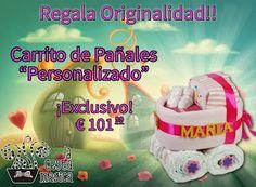 El Regalo más Especial!!!! tarta de pañales, carrito de pañales, regalo especial, bebés. La Cesta Magica: Google+