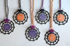 Halloween Costume Contest Award Necklaces with FREE Printables