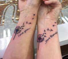 Mother daughter tattoos design ideas 28 - YS Edu Sky