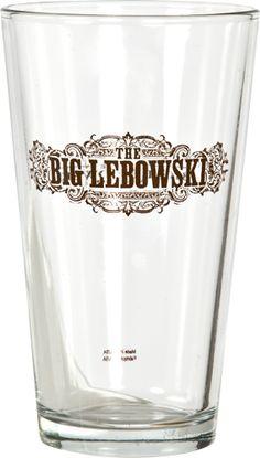 The Big Lebowski Pint Glass