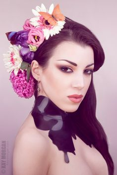 Lady Lucie Latex butterfly choker / neck piece door LadyLucie, £75.00