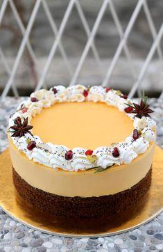 Kremasta mak limun torta – Sweetlifebykarla Orange Cookies, Cheesecake, Good Food, Desserts, Recipes, Life, Cakes, Tailgate Desserts, Deserts