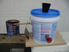 Hot water heater - I think this could be adapted into a water trough heater for the winter. I need husband to take a look!