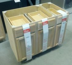 diy kitchen island from stock cabinets | DIY Home | Pinterest ...