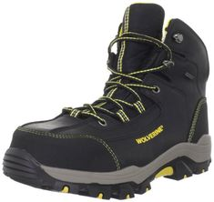 Wolverine Mens Bucklin 6 CompositeToeElectical HazardWaterproof Work BootBlack105 M US * Read more info by clicking the link on the image. #CampingFootwear