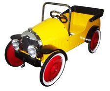 GREAT GIZMOS HARRY CLASSIC PEDAL CAR RIDE ON YELLOW BRAND NEW £169.00 ebay