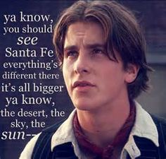 """Christian Bale as Jack Kelly from the movie Newsies. :) """"It's the same sun as here."""" -Sarah:)"""