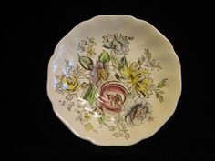 Johnson Brothers Sheraton saucer for flat cup by SharriesLOVECOMFORTS on Etsy Vintage Crockery, Johnson Brothers, Sale Sale, Regency, Pottery, Product Description, Flats, Floral, Fun
