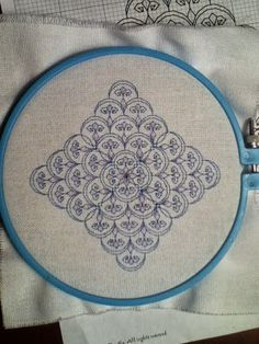 Free pattern. Gorgeous small work, stitches up quick. Byrd's Nest: Blackwork Smalls