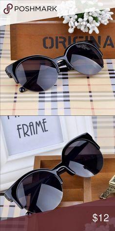Black cat-eye sunglasses Beautiful black cateye sunglasses Accessories Sunglasses