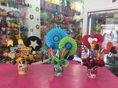 Disponibles en tienda Tazas Decoradas!!! #Floristeria #Tarjeteria #Regalos #Peluches #Ymas #Cagua #CalleComercio #dencantos