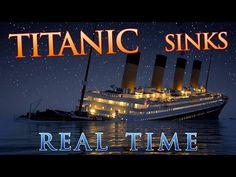 Regardez le Titanic couler en temps réel