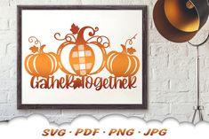 Thanksgiving Farmhouse Pumpkin Sign SVG Cut Files#pumpkinsvg #fallsvg #welcomesvg