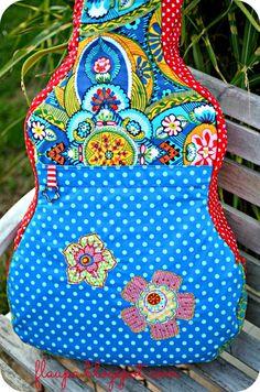 Flaupa: Gig Bag! Flamenco Flowers.