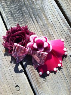 Fancy couture clip on Etsy, $4.00