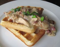 Pa Dutch chicken & waffles