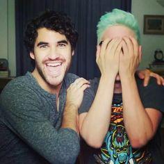 Darren Criss and Tyler