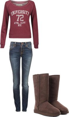 """College"" by akfasion ❤ liked on Polyvore"