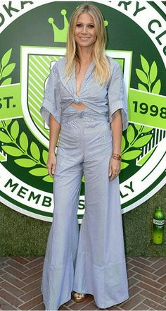 Gwyneth Paltrow rosie assoulin overalls style