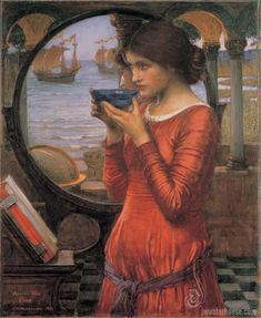 John William Waterhouse proves even brunettes can be babes.