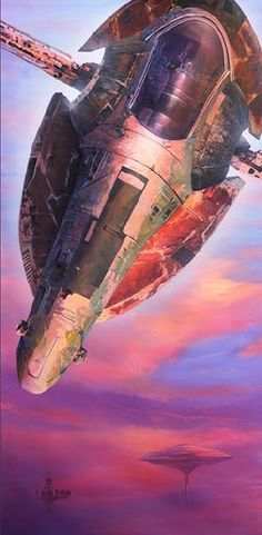"""Hunter Prevails"" - beautiful Star Wars artwork by William Silvers. For sale at artinsights.com"