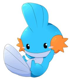 Mudkip! It breathes with the gills on its cheeks and sleeps by burying tself in the soil by the water or at the bottom of a river in the mud!