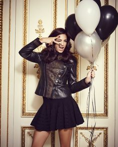 Who says we can't party in the winter?? #salmonleather #balloons #smile www.live-and-love.com