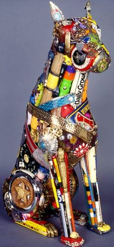 Rubbish can be beautiful ~ Recycled Art