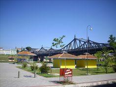 Parque da Ponte centenária na 7 de setembro.