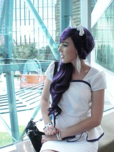 Rarity Cosplay | My Rarity Cosplay from AFest 2012 - Imgur