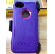 OtterBox iPhone 5C Defender Case  Holster Purple Cover w Belt Clip #OtterBox