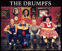 Hillbilly Elegy: Family at Risk. Ⓜ️‼️ #thedrumpfs #hillbillyelegy #hillbillies #familportrait #drumpf #unfit #idiotinchief #heehaw #redneckmemes #rednecks #trumpettes #trumpmemes #trumpflakes #maga #fakepresident #impeachtrump #impeach45 #25for45 #nevertrump #notmypresident #russiarussiarussia #lockthemup #lockhimup #leaks #political #impeachtrumpnow #impeachtrump #ovaloffice #resist #protests #dotard