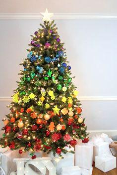 Árbol+de+Navidad+arco+iris