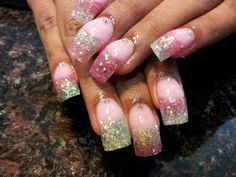 Nails by Vanessa at Styliztik Nailz in Albuquerque Beautiful Nail Designs, Beautiful Nail Art, Cool Nail Designs, Gorgeous Nails, Long Acrylic Nails, Acrylic Nail Art, Funky Nails, Trendy Nails, Get Nails
