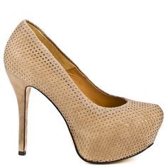 L.A.M.B. Love - Taupe Suede be bought from Heels Online Store with Promotional Codes and Coupons.