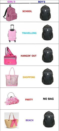 Ahahahah, I don't really like any of these bags, but the point has been made.