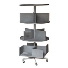 Swivel Shelves On Wheels, $892, now featured on Fab.