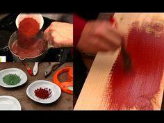 Peinture bio maison, peinture qualité pas chère - Homemade paint, cheap quality bio paint