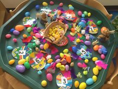 Continuous Provision, Eyfs, Small World, Classroom, Easter, Spring, Desserts, Food, Class Room