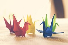 how to make origami (is that the correct way to word it?)
