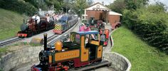 Pecorama - Gardens, Games and Trains.....overlooking Lyme Bay