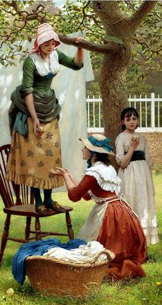 View The daughters of Eve by George Dunlop Leslie on artnet. Browse upcoming and past auction lots by George Dunlop Leslie. Puzzles Für Kinder, Art Amour, Art Ancien, Ouvrages D'art, Art Academy, Victorian Art, Fine Art, Beautiful Paintings, Oeuvre D'art